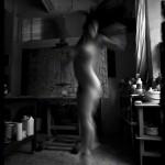 Art Nude Photography in Les Frigos, Paris - Flickering I Roam